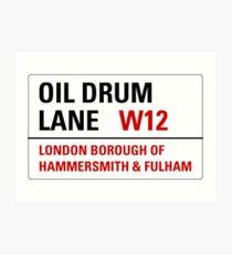 Oil Drum Lane - Steptoe & Son Art Print