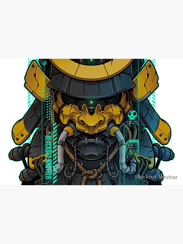Samurai Mecha 01 by BlackoutStore