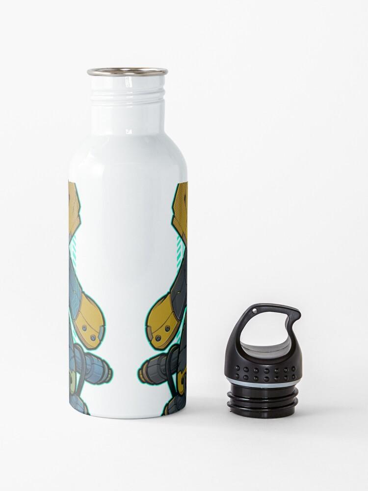 Alternate view of Samurai Mecha 01 Water Bottle