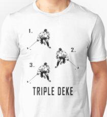 Camiseta ajustada Triple Deke