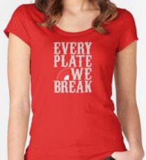 everyplatewebreak - logo Women's Fitted Scoop T-Shirt