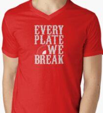 everyplatewebreak - logo Men's V-Neck T-Shirt