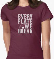 everyplatewebreak - logo Women's Fitted T-Shirt