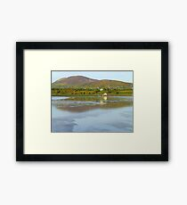 Irish Cottages In Donegal Framed Print