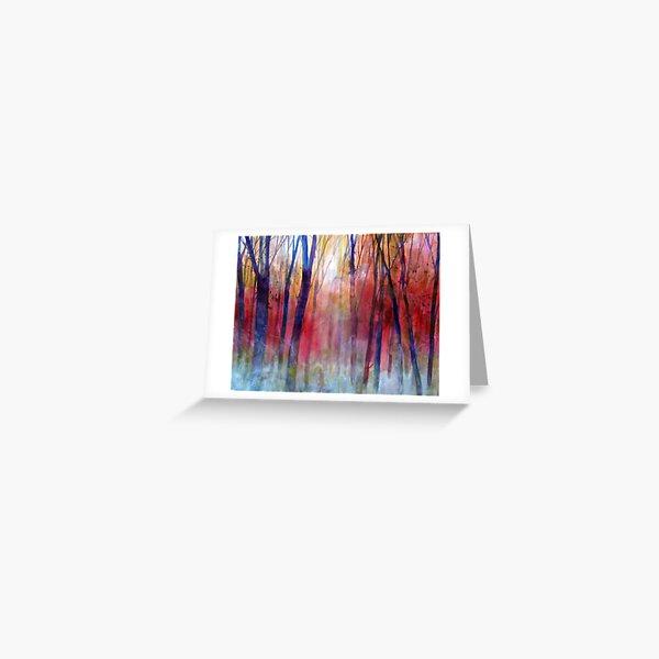 Il bosco dei sussurri Greeting Card