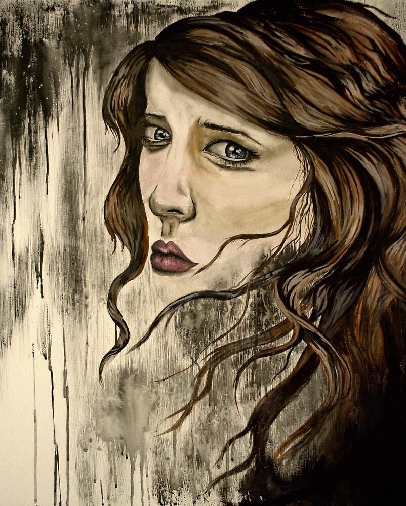 Girl in the rain by Chelsea Sanders (Leichter)