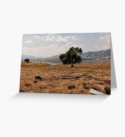 Sunburnt Land Greeting Card
