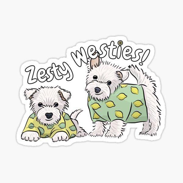 Zesty Westies! Sticker