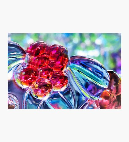 Abstract Glass Reflections Photographic Print