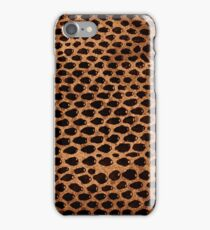 Snake Skin Leather Texture  iPhone Case/Skin