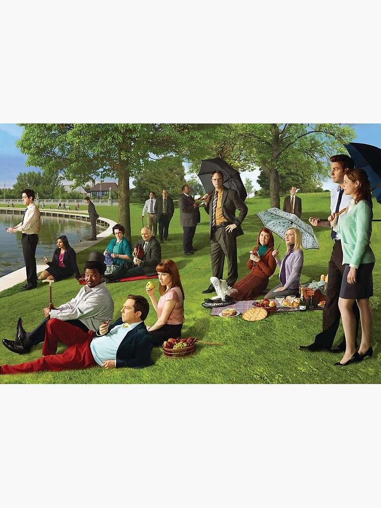 Seurat, The Office Edition by Flakey-