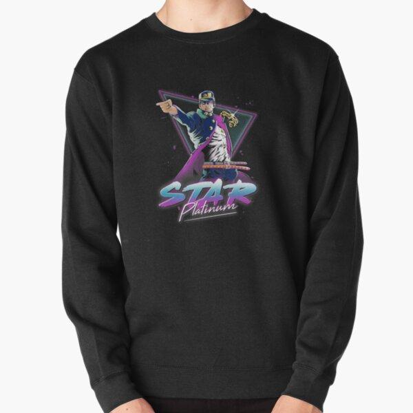 Ambiance Star Platinum des années 80 Sweatshirt épais