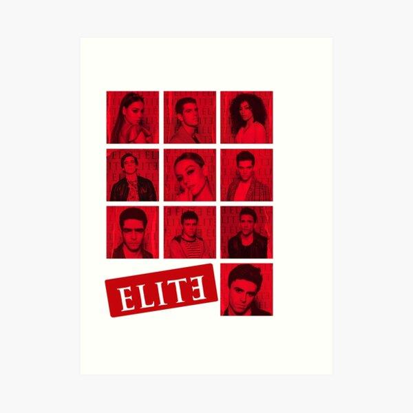 Elite Netflix Impression artistique