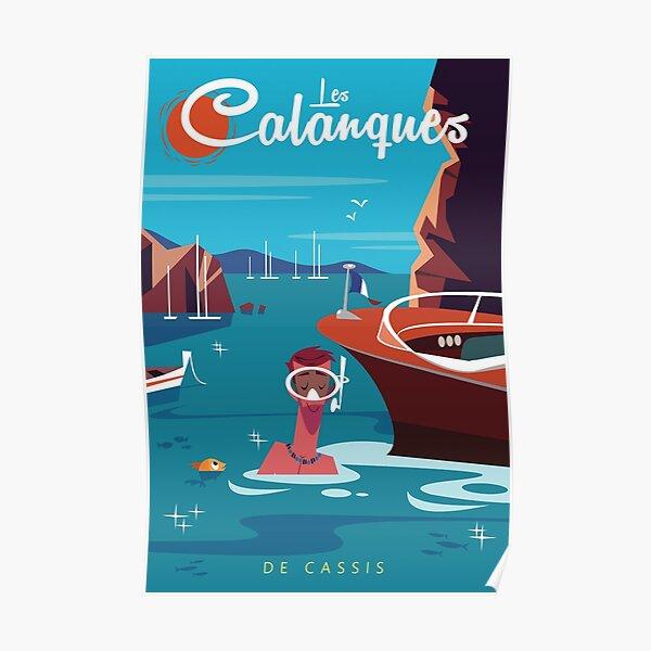 Les Calanques poster Poster