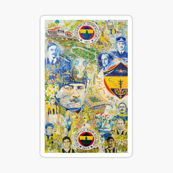 Fenerbahce 110 Years - Turkey Sticker
