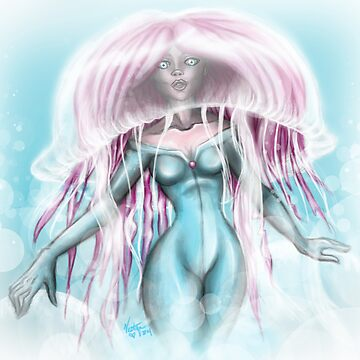 Creature Feature: Miss Jellyfish by Vestque