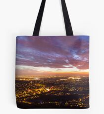 Cowles Mountain Sunset Tote Bag