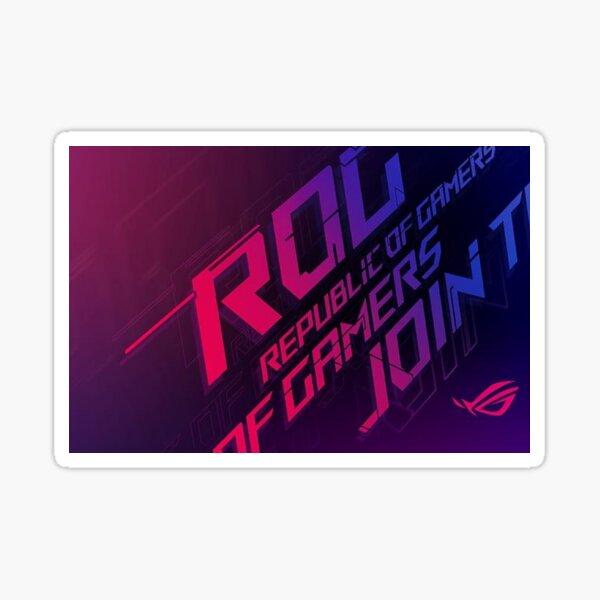 Asus ROG Sticker