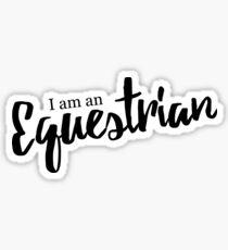 Equestrian - V. 1 Sticker