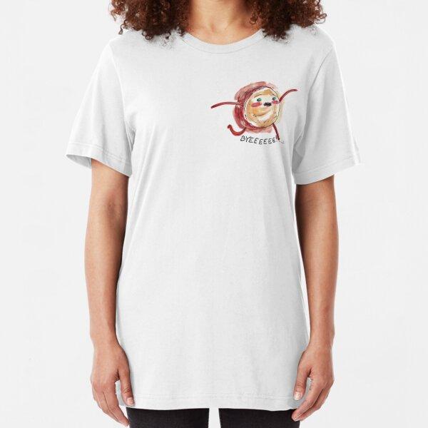 Cinnamon Bun - BYEEEEEE! Slim Fit T-Shirt