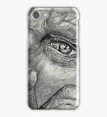 Thinking back iPhone Case/Skin