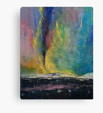 Arctic Lights Canvas Print