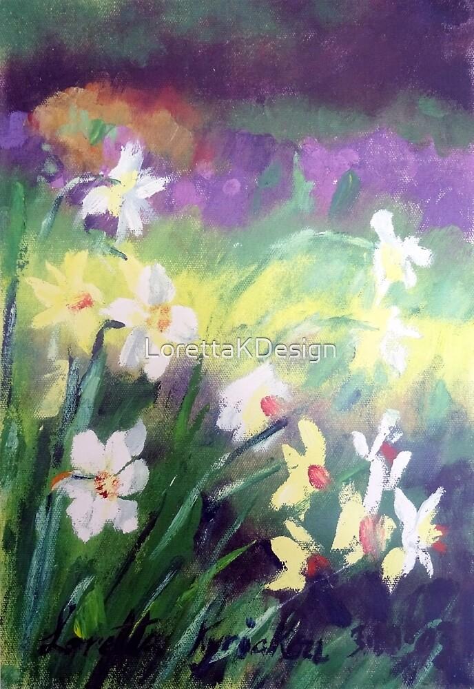 Majestic Daffodils by LorettaKDesign