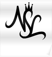 NSL White Crown Poster