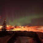 Urban Aurora Borealis by zumi