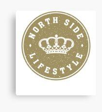 NSL Gold Royal Crown Canvas Print