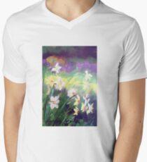Majestic Daffodils Men's V-Neck T-Shirt