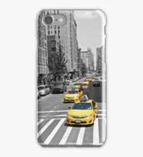New York Taxi! iPhone Case/Skin