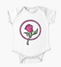 Stained Glass Rose | Beauty and the Beast One Piece - Short Sleeve
