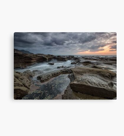 Hint of Sunrise Canvas Print