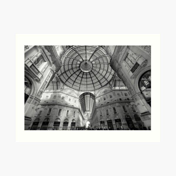 Galleria Vittorio Emanuelle 11, Milan, Italy.  Art Print