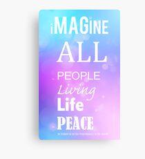 Imagine - Peace Canvas Print