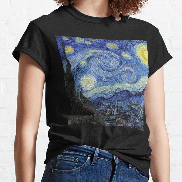 Noche estrellada - Vincent Van Gogh Camiseta clásica
