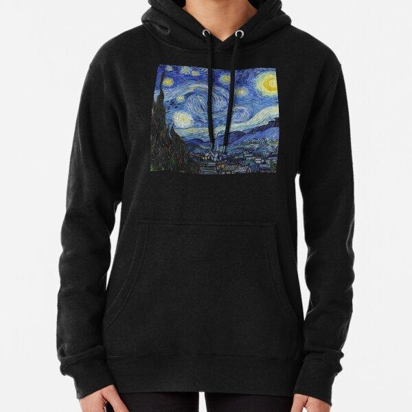 Starry Night - Vincent Van Gogh Pullover Hoodie