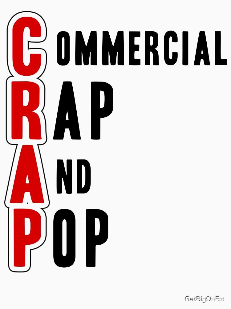 CRAP - Black by GetBigOnEm