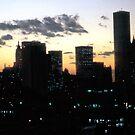 1981 Manhattan Balcony View by steeber