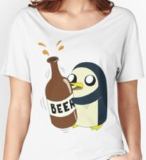 Gunter Loves Beer Women's Relaxed Fit T-Shirt