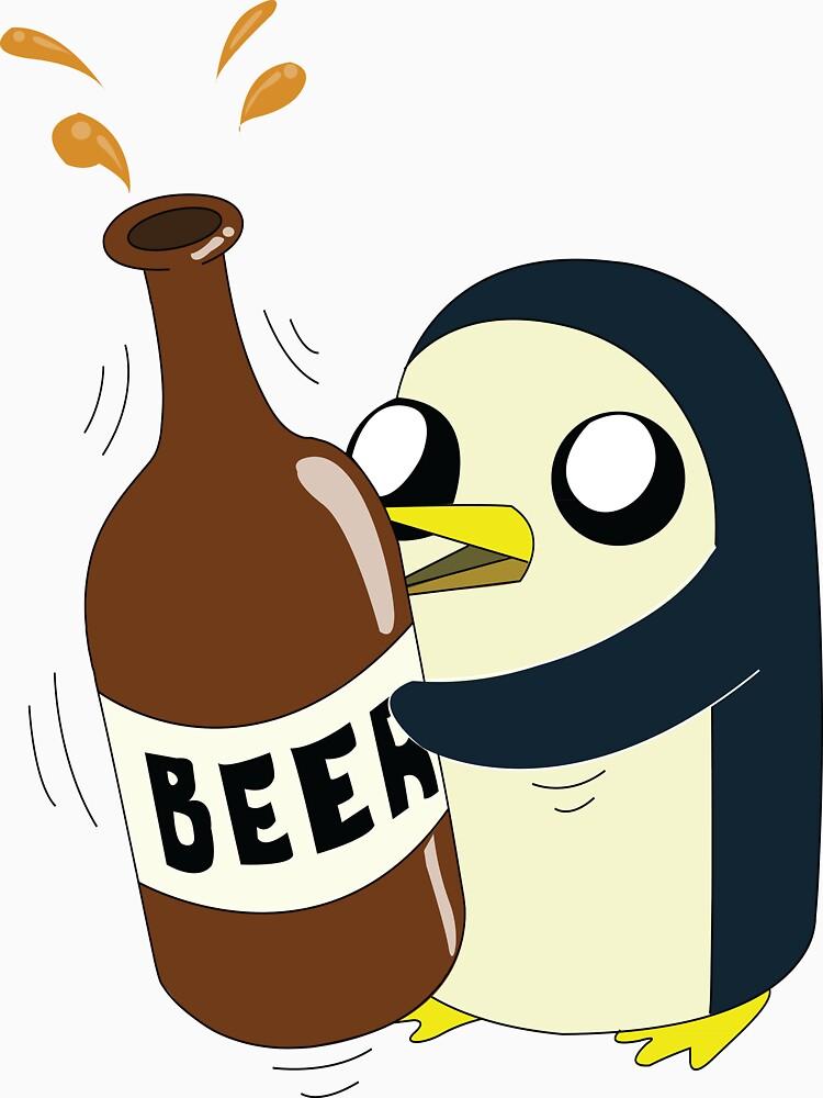 Gunter Loves Beer | Unisex T-Shirt