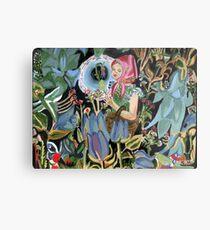 Babe in woods Metal Print
