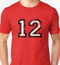 Number Twelve - No. 12 (two-color) white T-Shirt