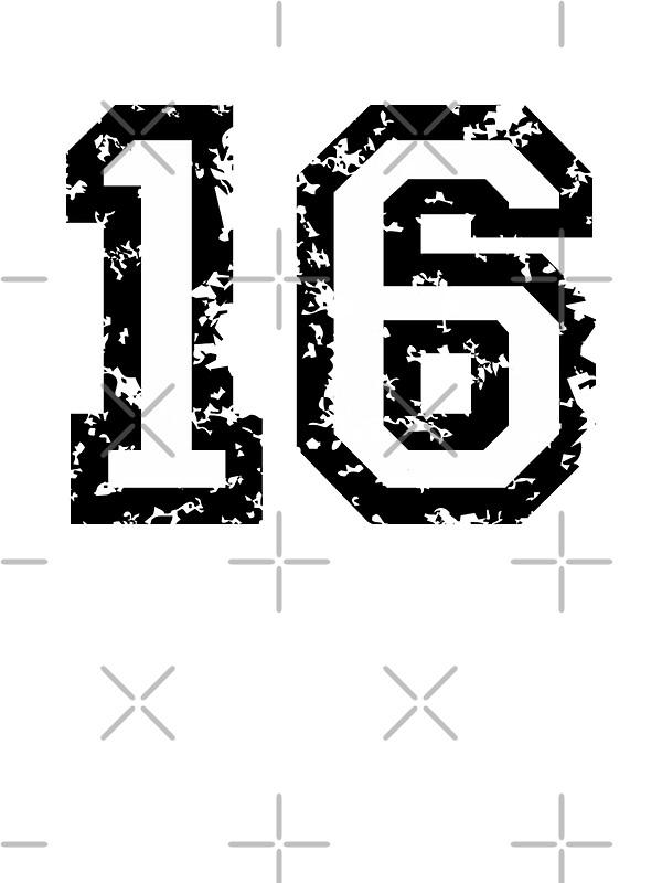 """Number Sixteen"