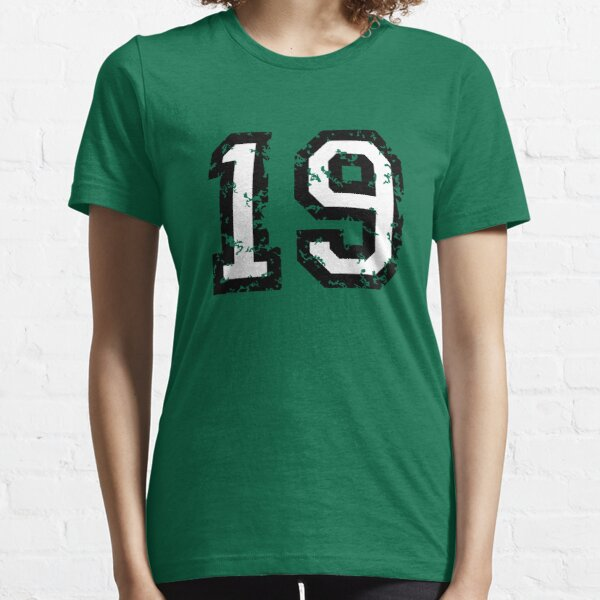 Number Nineteen - No. 19 (two-color) white Essential T-Shirt