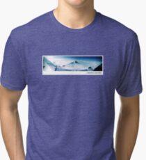 Saalbach Austria Design 1 Tri-blend T-Shirt