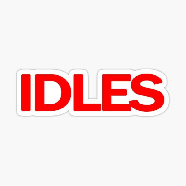 IDLES Sticker