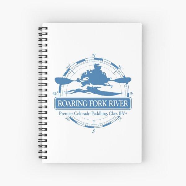 Roaring Fork River (KC2) Spiral Notebook