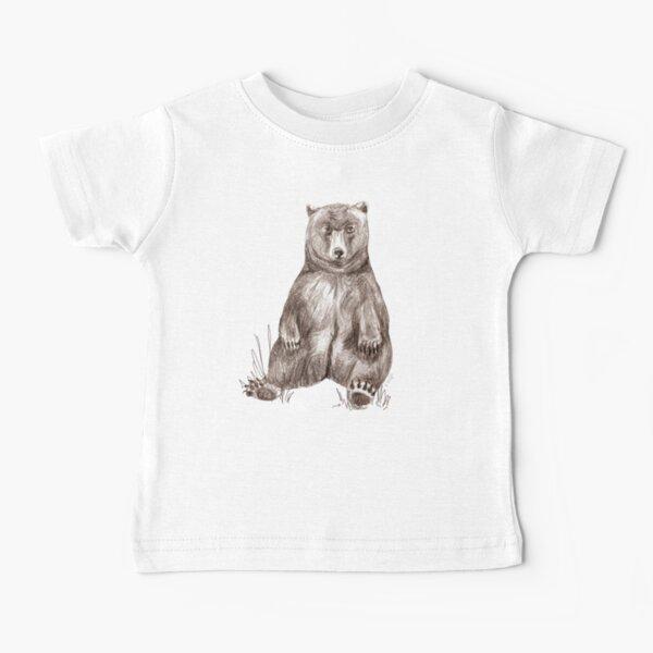 Graphite Bear Tatra Cottage Baby T-Shirt